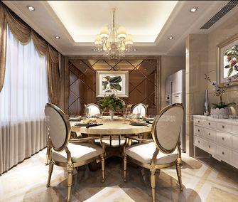 豪华型140平米三室三厅欧式风格餐厅欣赏图