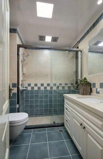 120平米三室五厅美式风格卫生间设计图