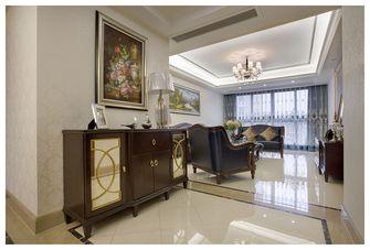 130平米四室两厅新古典风格玄关橱柜图片大全