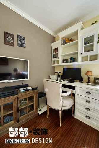5-10万110平米三室两厅田园风格书房装修图片大全
