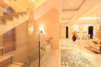 富裕型140平米别墅混搭风格楼梯欣赏图