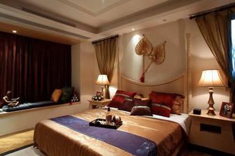 140平米四室两厅东南亚风格卧室装修案例