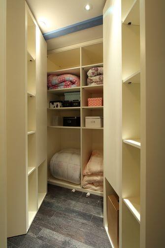 富裕型110平米三室两厅田园风格储藏室效果图
