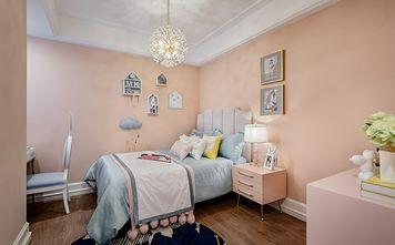 110平米三室三厅美式风格卧室图片大全