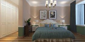 130平米三室兩廳美式風格臥室圖