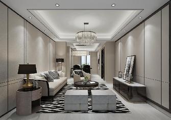 140平米混搭风格客厅装修案例