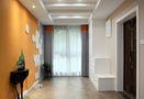 140平米三室一厅美式风格玄关图片大全