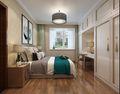 130平米三室两厅中式风格储藏室装修案例