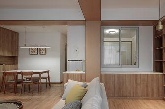 90平米三室一厅日式风格玄关图片大全