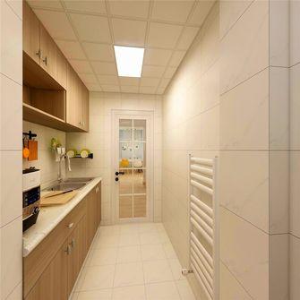 50平米一室两厅北欧风格厨房图片大全