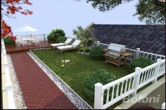 140平米别墅新古典风格阳光房装修效果图