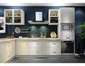 100平米三室一厅现代简约风格厨房橱柜图片
