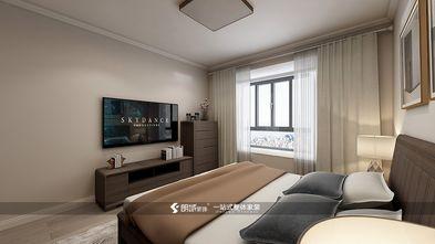 80平米三室两厅美式风格卧室欣赏图