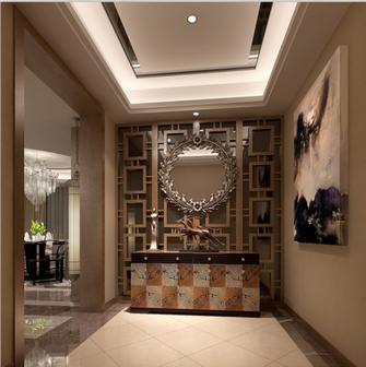 140平米四室两厅现代简约风格玄关门口图