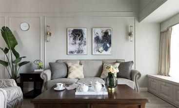 80平米三室一厅美式风格客厅图片大全