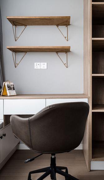 50平米一居室北欧风格书房设计图