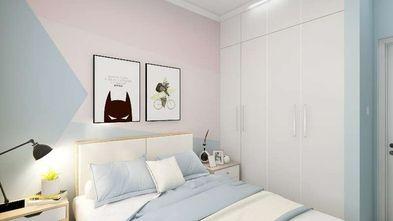 130平米三室三厅北欧风格卧室图片