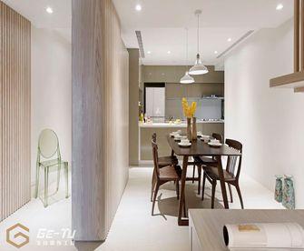 140平米三室一厅日式风格餐厅效果图
