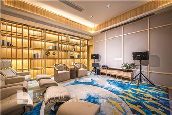 140平米别墅日式风格影音室效果图