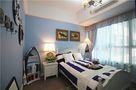 100平米三室两厅地中海风格儿童房图片