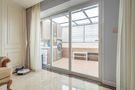 130平米三室两厅法式风格阳台设计图
