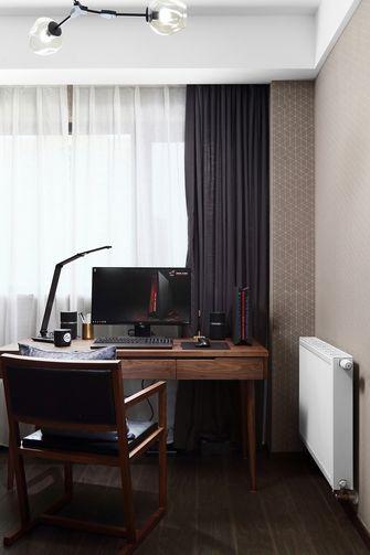 80平米三室一厅宜家风格书房设计图
