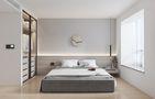 80平米三室一厅现代简约风格卧室图片大全