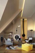 140平米复式宜家风格阁楼设计图