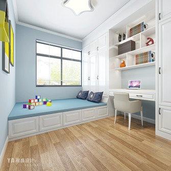 120平米三欧式风格儿童房图片大全