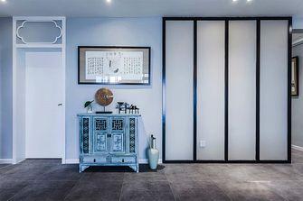 110平米三室两厅东南亚风格玄关设计图