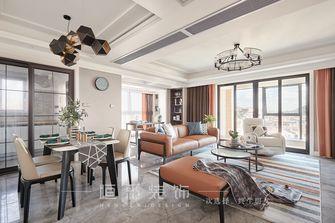 富裕型140平米三室两厅现代简约风格客厅图片大全