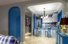 富裕型140平米四室三厅地中海风格餐厅装修效果图