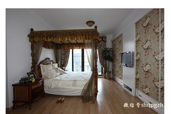富裕型140平米四室一厅田园风格卧室装修图片大全