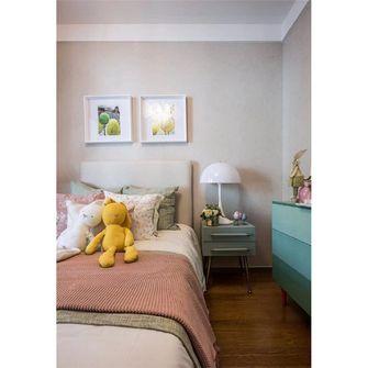 90平米三室一厅现代简约风格卧室设计图
