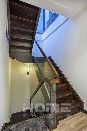 富裕型140平米四室两厅中式风格楼梯装修效果图