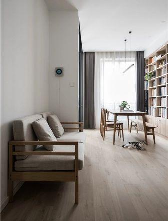 70平米公寓日式风格客厅装修案例