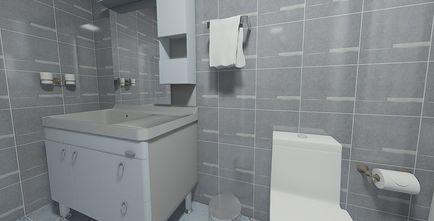 90平米地中海风格卫生间装修案例