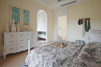 140平米一室一厅地中海风格卧室装修案例
