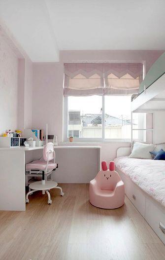 90平米现代简约风格儿童房图