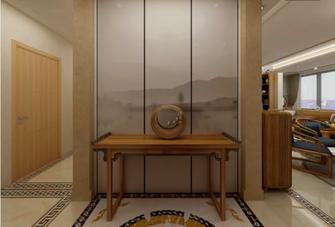 140平米四中式风格玄关欣赏图