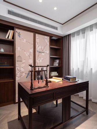 140平米三中式风格书房图
