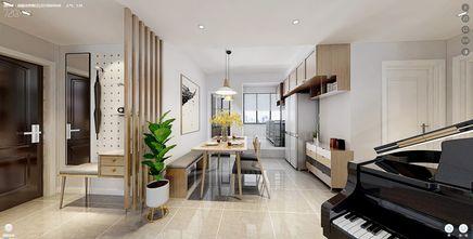 110平米三室两厅日式风格餐厅图片