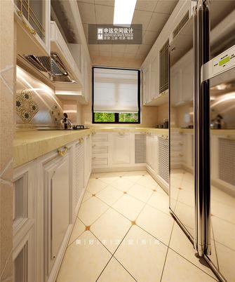 140平米三室三厅新古典风格厨房图片