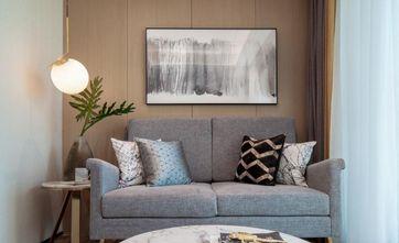 80平米宜家风格客厅设计图