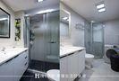 70平米混搭风格卫生间浴室柜装修案例