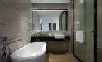 70平米一室一厅中式风格卫生间图片