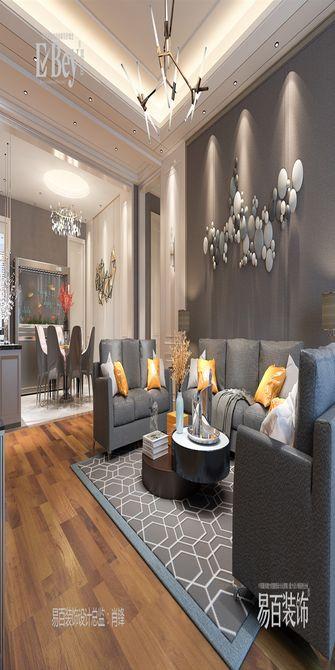 140平米四室四厅新古典风格客厅图片大全