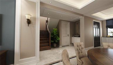 140平米复式美式风格楼梯间图