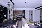 140平米四室两厅现代简约风格餐厅沙发图片大全