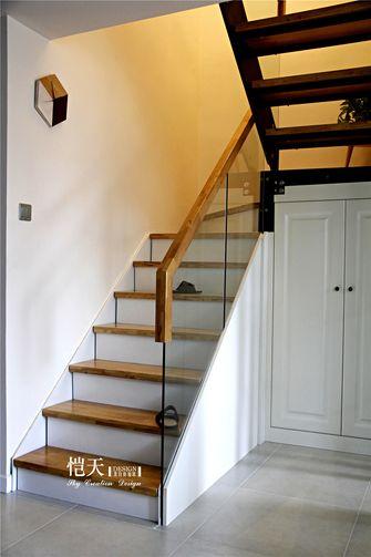 富裕型100平米复式北欧风格楼梯欣赏图